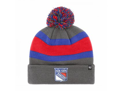 nhl new york rangers charcoal breakaway cuff knit p5816 16237 zoom