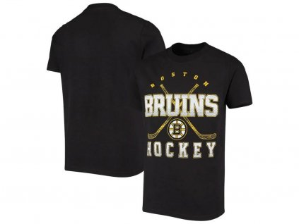 Detské Tričko Boston Bruins Digital T-Shirt - Black