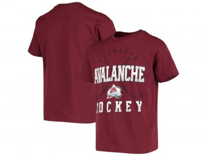 Detské Tričko Colorado Avalanche Digital T-Shirt - Burgundy