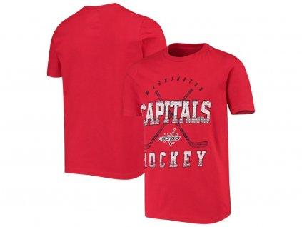 Detské Tričko Washington Capitals Digital T-Shirt - Red
