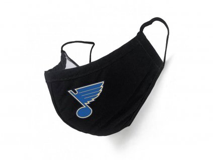 Rúško St. Louis Blues Black
