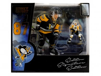 Figurka Sidney Crosby #87 Pittsburgh Penguins Set Box Exclusive
