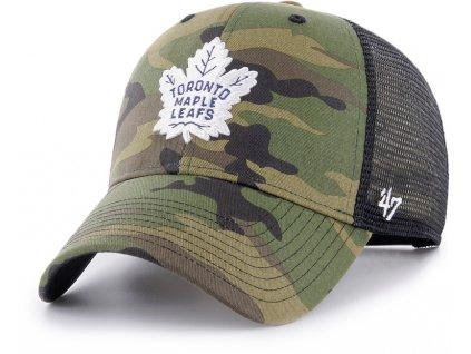 438280 siltovka 47 brand mvp trucker branson nhl toronto maple leafs camo 87374