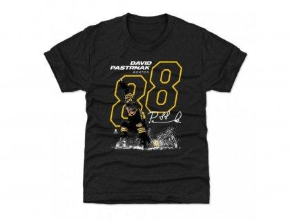 Tričko Boston Bruins David Pastrnak #88 OUTLINE 500 Level