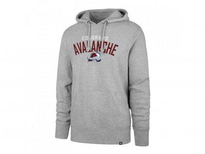 Mikina Colorado Avalanche Outrush '47 HEADLINE Pullover Hood