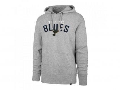 Mikina St. Louis Blues Outrush '47 HEADLINE Pullover Hood