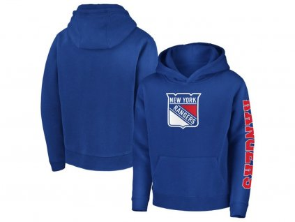 Detská Mikina New York Rangers Zone Pullover Hoodie