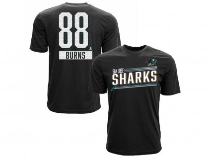 Tričko San Jose Sharks Brent Burns #88 Icing Name and Number