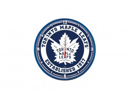 Nástenné Hodiny Toronto Maple Leafs Circle Win Craft