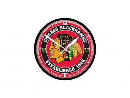 Nástenné Hodiny Chicago Blackhawks Circle Win Craft