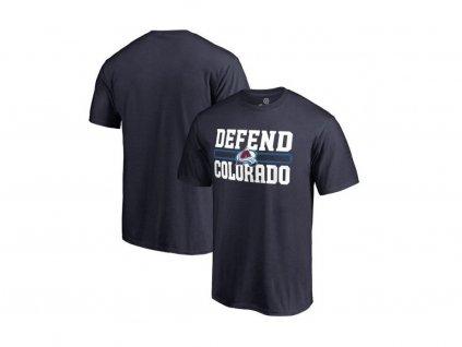 Detské Tričko Colorado Avalanche Hometown Defend
