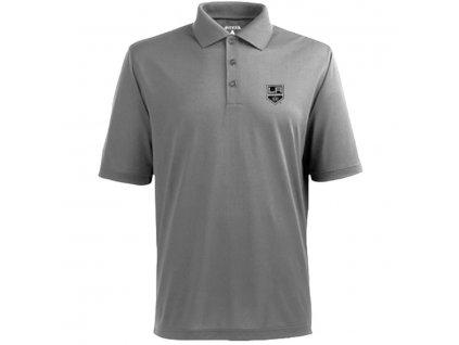 Tričko Los Angeles Kings Pique Xtra-Lite Polo Gray (Veľkosť XXL)