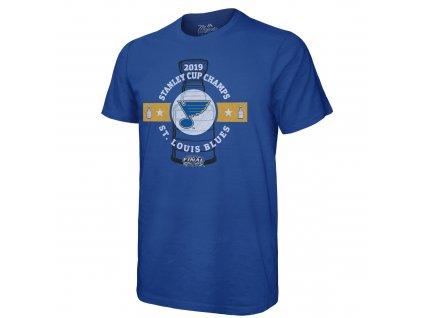 Pánské tričko St. Louis Blues 2019 Stanley Cup Champions Come Prepared (Veľkosť XXXL)