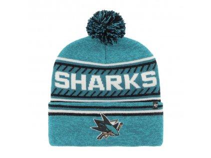 Zimní čepice San Jose Sharks Ice Cap '47 CUFF KNIT