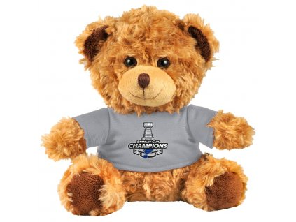 76406 plysovy medvidek st louis blues 2019 stanley cup champions plush bear