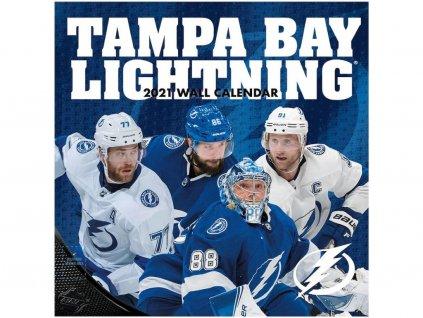 Kalendár Tampa Bay Lightning 2021 Wall Calendar