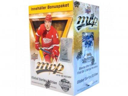 Hokejové Karty NHL 2019-20 UD MVP Hockey Blaster Global Series Box