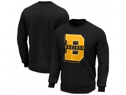 Mikina Boston Bruins College Letter Crew Sweatshirt