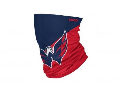 Nákrčník Washington Capitals Big Logo Elastic Gaiter Scarf