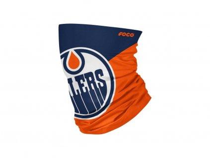 Nákrčník Edmonton Oilers Big Logo Elastic Gaiter Scarf