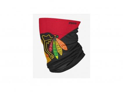 Nákrčník Chicago Blackhawks Big Logo Elastic Gaiter Scarf