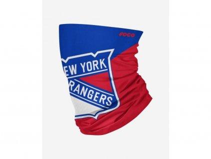 Nákrčník New York Rangers Big Logo Elastic Gaiter Scarf