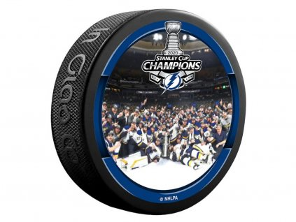 Puk Tampa Bay Lightning 2020 Stanley Cup Champions  Team Celebration Hockey Puck