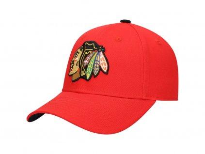 Detská Šiltovka Chicago Blackhawks Basic Adjustable Hat – Red
