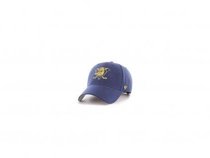 Šiltovka Anaheim Ducks Navy Blue Gold Logo
