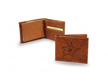 Kožená peňaženka Dallas Stars Embossed Trifold