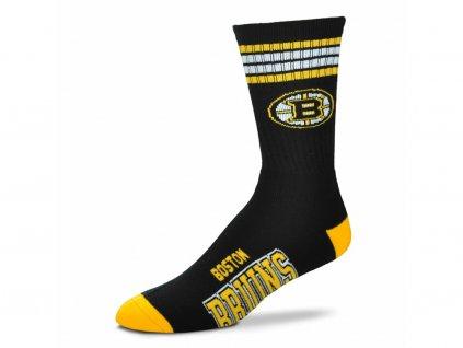 Detské ponožky Boston Bruins 4 Stripes Crew