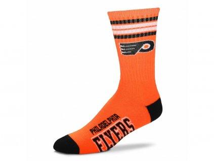 Detské ponožky Philadelphia Flyers 4 Stripes Crew