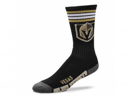 Detské ponožky Vegas Golden Knights 4 Stripes Crew