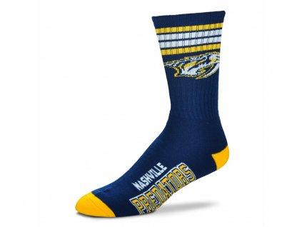 Ponožky Nashville Predators 4 Stripes Crew