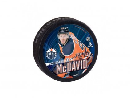 Puk Edmonton Oilers Souvenir Puck Connor McDavid