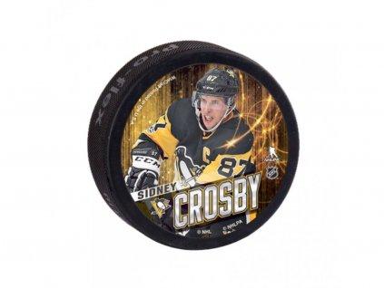 Puk Pittsburgh Penguins Souvenir Puck Sidney Crosby