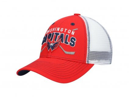Detská Šiltovka Washington Capitals Core Lockup Trucker Snapback Hat - Red