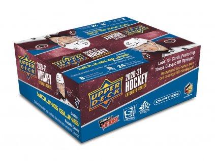 Hokejové Karty 2020-21 UD Extended Series Hockey Retail Box