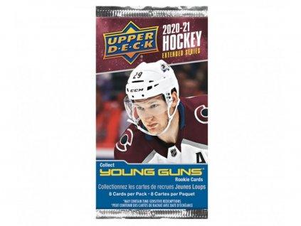 Hokejové Karty 2020-21 UD Extended Series Hockey Retail Balíček