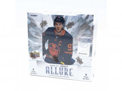 Hokejové Karty 2020-21 UD Allure Hockey Hobby Box