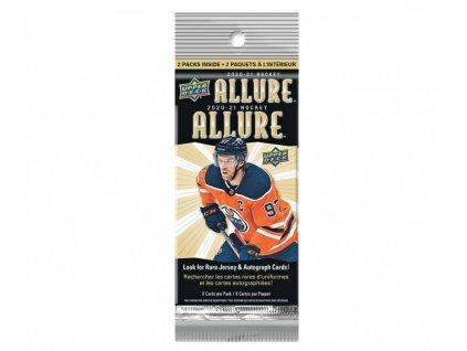 Hokejové Karty 2020-21 UD Allure Hockey Hanger Balíček