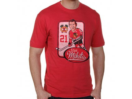 Tričko - Chicago Blackhawks Stan Mikita Alumni Hyperbole Vintage