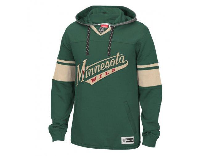 Mikina Minnesota Wild Speedwick Jersey Hoodie (Velikost S, Distribuce USA)