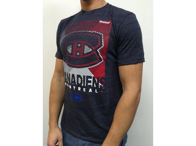 Tričko Montreal Canadiens Linear Oblik