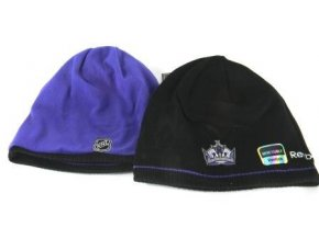 NHL Zimná čiapka Los Angeles kings Reversible Black/Purple Knit