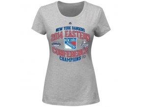 Dámske tričko New York Rangers 2014 Eastern Conference Champions Five Hole