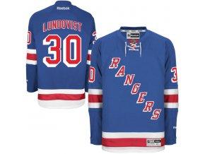 Dres Henrik Lundqvist New York Rangers Premier Jersey Home