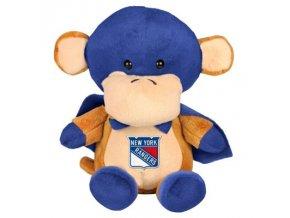 Plyšový superhrdina New York Rangers - opica