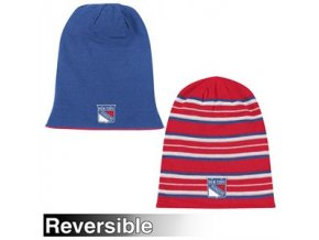 Reebok new york rangers Faceoff Long Reversible Knit Hat