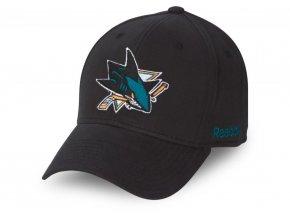 Šiltovka San Jose Sharks FaceOff Slouch